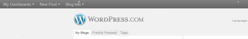 Picture of WordPress Snow