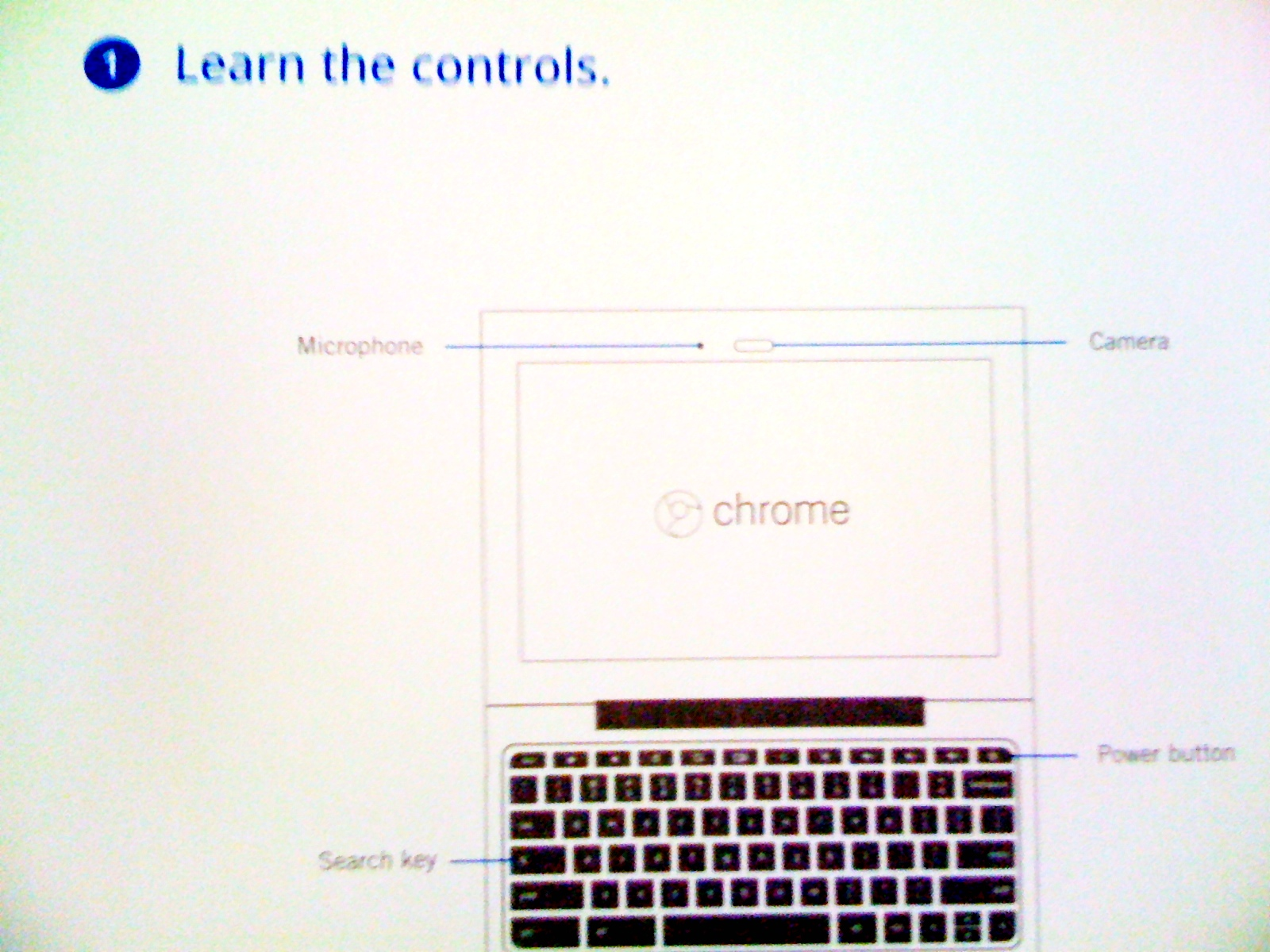 Picture of Chrome Instruction Sheet